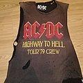 AC/DC - TShirt or Longsleeve - AC/DC Highway to Hell cutoff