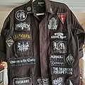 Chelsea Wolfe - Battle Jacket - first jacket, mostly finished, black and doom mostly, a few non-metal bands for...