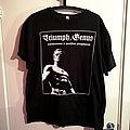 """Triumph Genus - TShirt or Longsleeve - Triumph, Genus - """"Všehorovnost je porážkou převyšujících"""""""