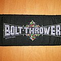 Bolt Thrower - Patch - Bolt thrower logo patch