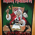 Iron Maiden - Patch - Iron Maiden ten years backpatch