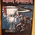 Iron Maiden - Patch - Iron Maiden backpatch 2 minutes to midnight