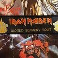 Iron Maiden - Patch - Iron Maiden patch stripe World slavery tour