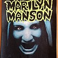 Marilyn Manson - Patch - Marilyn Manson backpatch