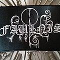 Fäulnis - Patch - Fäulnis logo patch