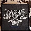 Danzig - Patch - Danzig patch skull blue grape