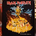 Iron Maiden - Patch - Iron Maiden patch holy smoke