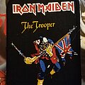Iron Maiden - Patch - Iron Maiden patch the trooper
