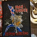 Iron Maiden - Patch - Iron Maiden patch the beast on the road