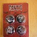Danzig - Pin / Badge - Danzig buttons