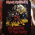 Iron Maiden - Patch - Iron Maiden patch the number of the beast