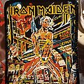 Iron Maiden - Patch - Iron Maiden patch somewhere in time