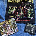 Iron Maiden - Patch - Wasted Years + Somewhere in Time collection