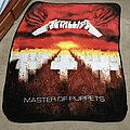 Metallica - Other Collectable - Metallica - Master Of Puppets Throw Blanket (Spencers & Blackout Merch) (2017)