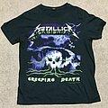 "Metallica - TShirt or Longsleeve - ""Metallica - Creeping Death"" Black T-Shirt (Bay Island) (Sears) (Size M)"