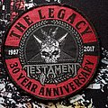 Testament - Patch - Testament - 30 Year Anniversary woven patch