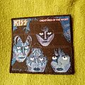 Kiss - Patch - KISS - Creatures of the Night woven patch