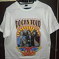 AEROSMITH Rocks Tour U.S.-Europe-Japan short sleeve shirt