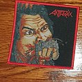Anthrax - Patch - Anthrax Fist full of metal Woven