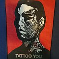 The Rolling Stones - Patch - Tattoo You VTG BP