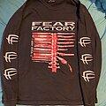 Fear Factory - TShirt or Longsleeve - Fear Factory Demanufacture Red Bootleg LS