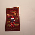 Macabre - Other Collectable - Macabre flyer