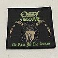 Ozzy Osbourne - Patch - Ozzy Osbourne NRFTW patch
