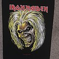 Iron Maiden - Patch - IRON MAIDEN Eddie killers 2011 - GIANT BACK PATCH no longer made