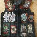 CREAMING JESUS - Battle Jacket - Punk Rock Mosh Pit Battle Jacket