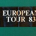 Black Sabbath - Other Collectable - Black Sabbath - Born Again 1983 Tour Scarf