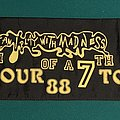 Iron Maiden - Other Collectable - Iron Maiden - 7th Tour of a 7th Tour 1988 Tour Scarf