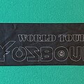 Ozzy Osbourne - Other Collectable - Ozzy Osbourne - Black Rain 2007 Tour Scarf