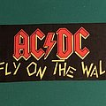 AC/DC - Other Collectable - AC/DC - Fly On the Wall 1986 Tour Scarf