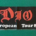 Dio - Other Collectable - Dio - Last in Line 1984 Tour Scarf