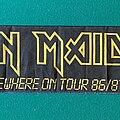 Iron Maiden - Other Collectable - Iron Maiden - Somwhere on Tour 1986 Tour Scarf