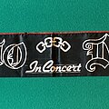 Dio - Other Collectable - Dio - In Concert, European Tour Scarf