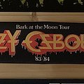Ozzy Osbourne - Other Collectable - Ozzy Osbourne - Bark at the Moon 1983 Tour Scarf
