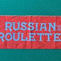 Accept - Other Collectable - Accept - Russian Roulette 1986 Tour Scarf