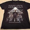 Immolation - TShirt or Longsleeve - IMMOLATION Kingdom of Conspiracy TS