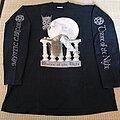 Mystic Circle - TShirt or Longsleeve - MYSTIC CIRCLE Throne of the Night LS 1996