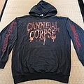 Cannibal Corpse - Hooded Top - CANNIBAL CORPSE Bloodthirsty Tour No Mercy Festivals 2000 Hoodie