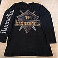 HammerFall - TShirt or Longsleeve - HAMMERFALL The Templar World Crusade 1998 LS