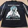 Kataklysm - TShirt or Longsleeve - KATAKLYSM Temple of Knowledge LS 1996