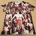 Cannibal Corpse - TShirt or Longsleeve - CANNIBAL CORPSE Bleeding Allover Bootleg