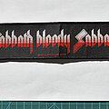 Black Sabbath - Patch - Black Sabbath - superstrip