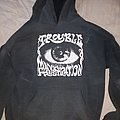 Trouble - Hooded Top - Manic frustration