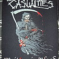The Casualties - Patch - The Casualties back patch