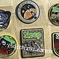 Sleep - Patch - Wanted: Sleep Tour Patch