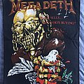 Megadeth - Patch - Peace Sells...But Who's Buying? 1987 Original Backpatch