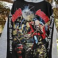 """Iron Maiden - Hooded Top -  90s IRON MAIDEN """"The Trooper Live After Death"""" Hoodie"""